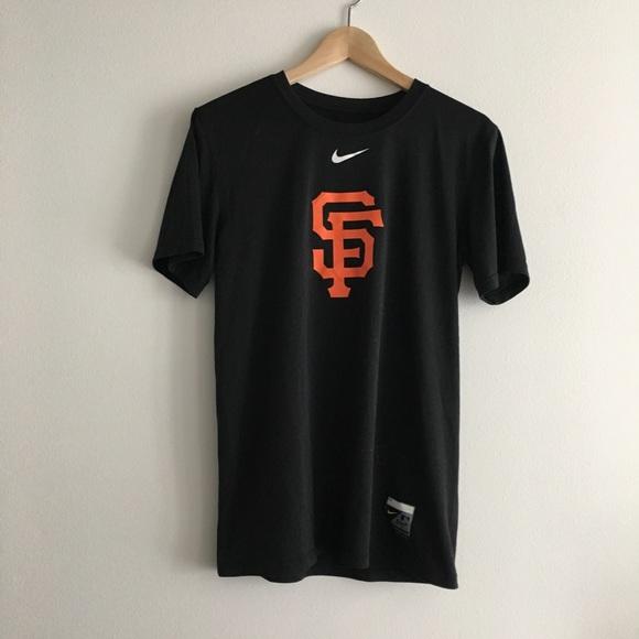 Nike Dri Fit San Francisco Giants tee shirt top